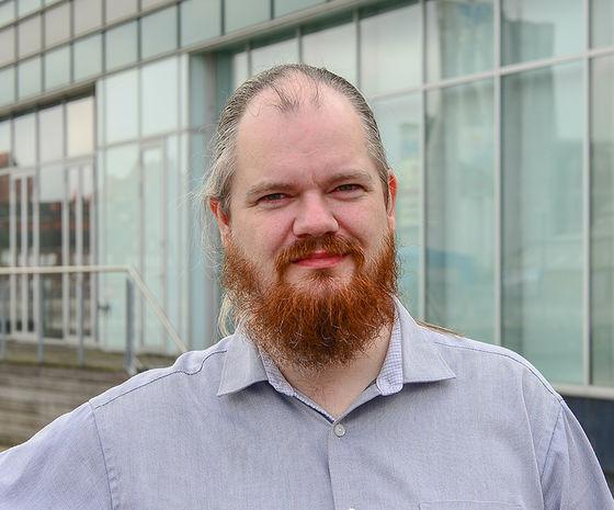 Henrik Holmgren-Jensen, seniorudvikler hos Hesehus